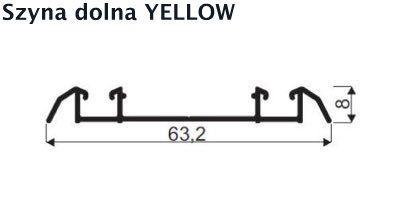 szyna dolna yellow