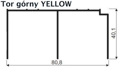 tor górny yellow