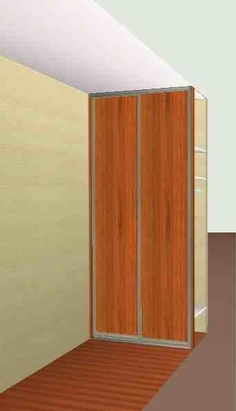 szafa 2 drzwiowa