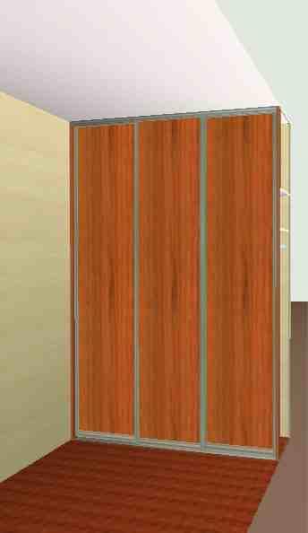 zabudowa 3 drzwiowa