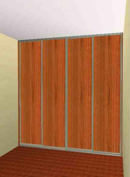 garderoba 4 drzwiowa na zamówienie
