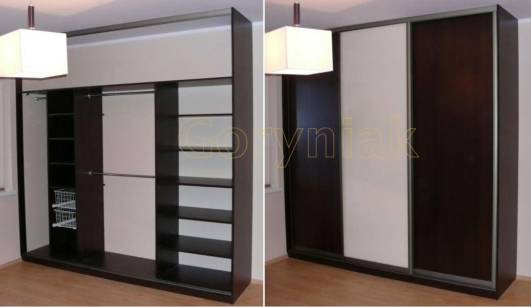 goryniak szafy wn kowe na wymiar drzwi przesuwne naro ne szafy do zabudowy. Black Bedroom Furniture Sets. Home Design Ideas